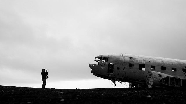 US Navy DC-3 Wreck, Sólheimasandur Beach, Iceland