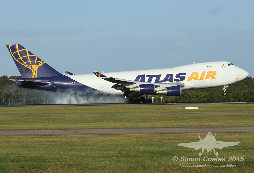 N412MC - B744 - Atlas Air