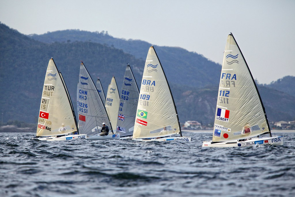 Test-Event Rio 2015 - Jonathan Lobert_Copyright C. Launay-FFVoile
