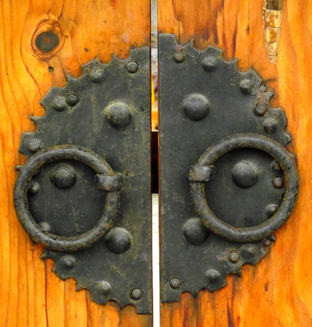 SEOUL BUKCHON HANOK VILLAGE DOOR
