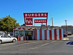 Pal's Burgers & Shakes located in downtown Kingsport, TN