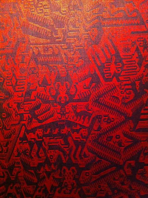 Demonic Weaved Textiles