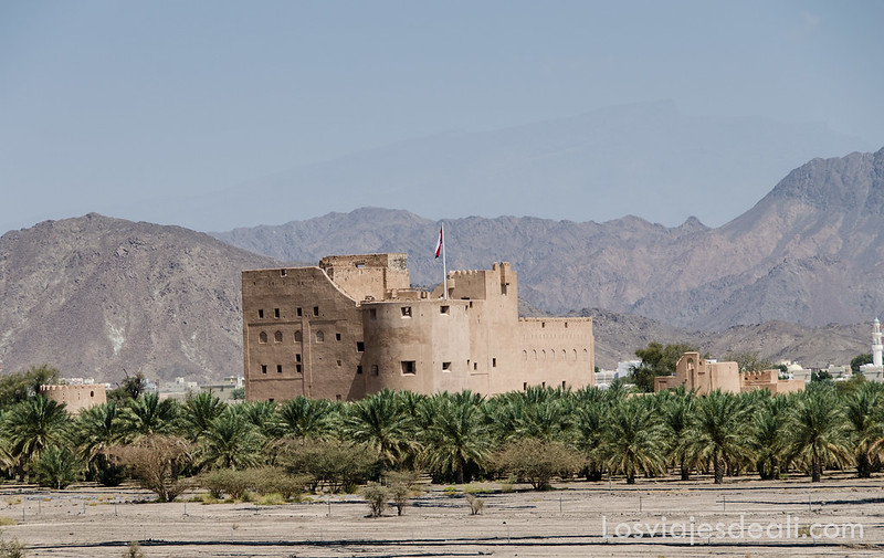 montañas de Omán
