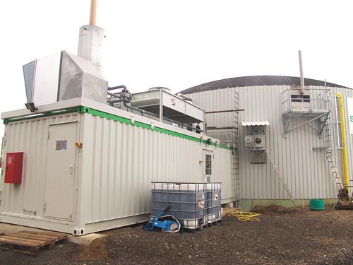 Biogasanlage; #holzvonhier-Energie