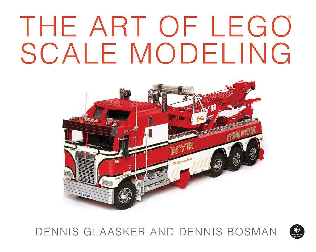 Book: The Art of Lego Scale Modeling (august 2015)