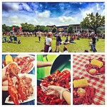 Happy Crawfest! Today, students and New Orleanians gathered on the LBC and Newcomb Quad for a day filled with thousands of pounds of crawfish, food trucks, free giveaways, and 8 live musical performances - including the Wailers! It's definitely one of the