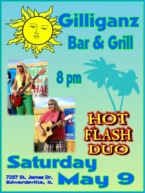 Hot Flash 5-9-15