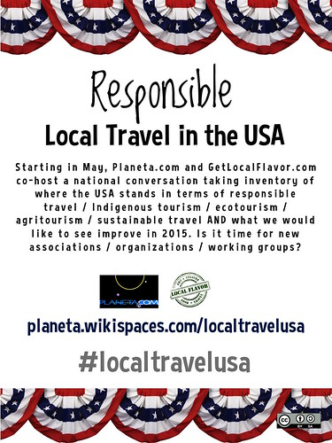 May 2015: Responsible Local Travel in the USA @GetLocalFlavor @ronmader #localtravelusa
