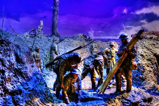 World War I: The main Western Front Diorama