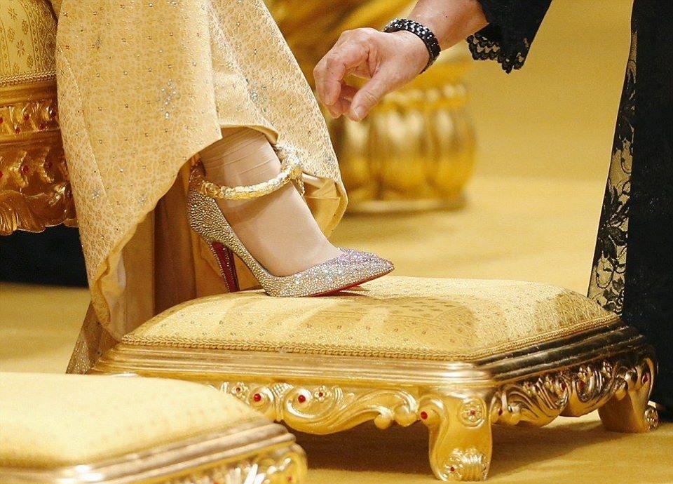 بالصور عرس أسطوري الأحلام تتحقق في قصر سلطان بروناي الخليج أونلاين