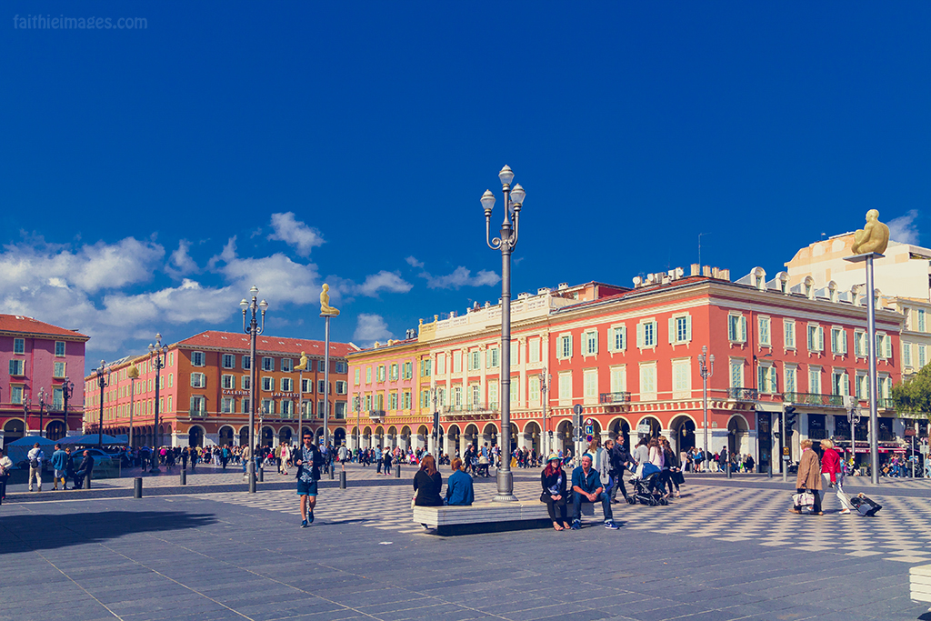 Sunny day in Nice, France