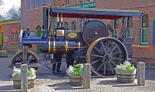 D12427.  Wallis & Steevens Steam Roller at Arlesford.