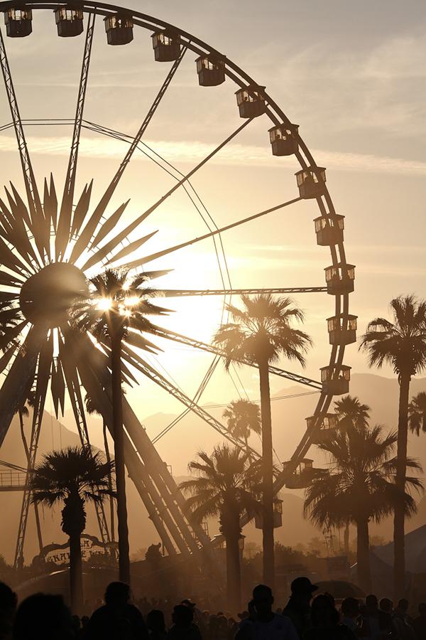 eatsleepwear, Coachella, Ferris-Wheel, GUESS