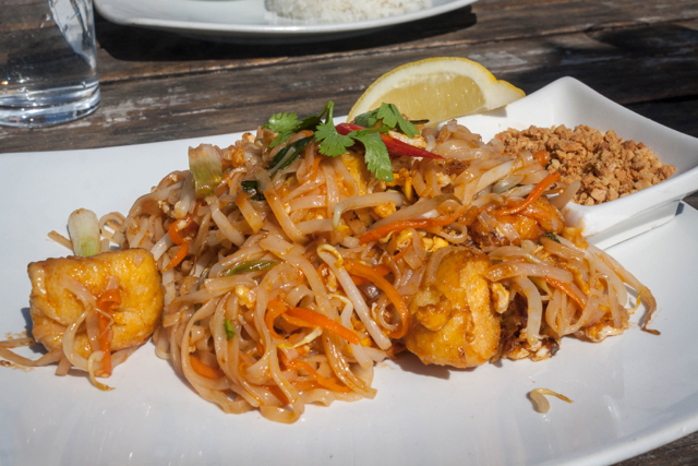 Pad Thai at Street Thai, Brighton.