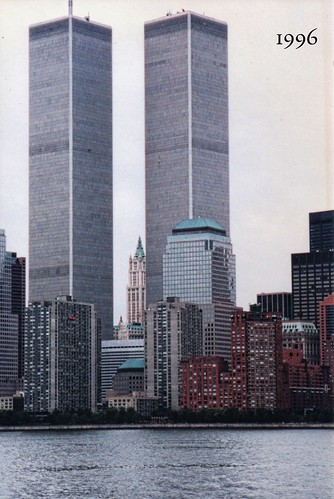 New York NY ~ Manhattan ~ NYC ~ Old World Trade Center ~ My Photography 1996 ~ Destroyed
