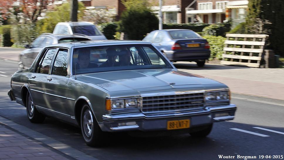 Chevrolet Caprice Classic 1985 | Overveen, Netherlands  | Flickr