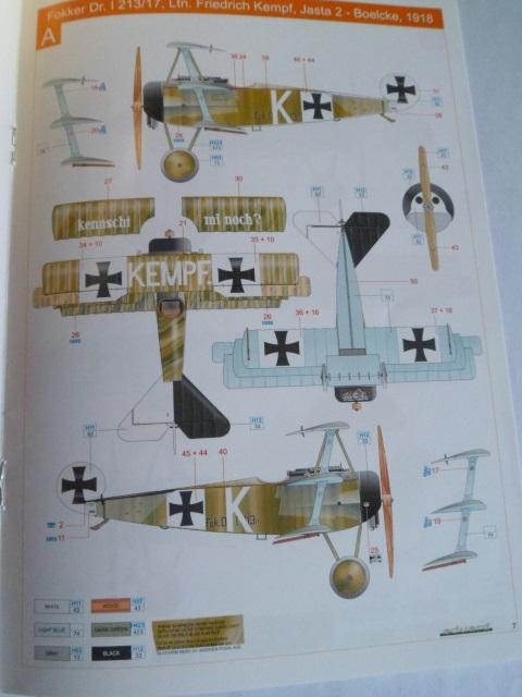 Ouvre-boîte Fokker DR.I  [Eduard 1/72] 17238250205_ce394ff766_o