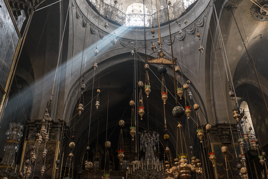 100 years of armenian genocide in Armenian Orthodox Church of Jerusalem