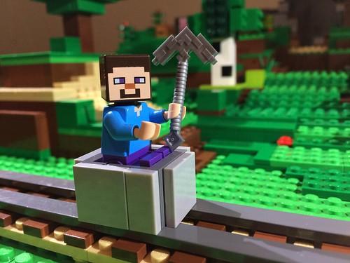 Minecraft mine cart!