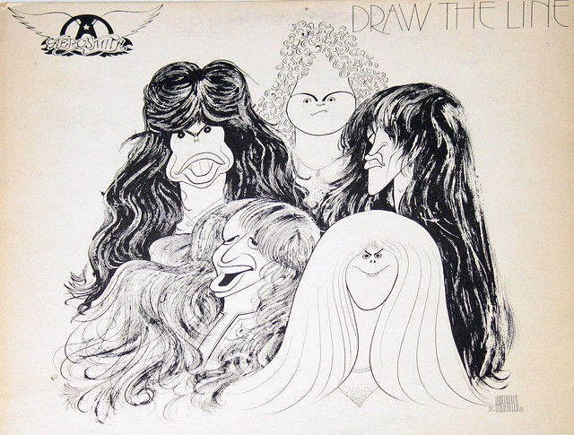 "Aerosmith Draw The Line 12"" VInyl LP"