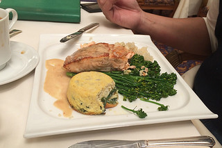 The Garden Court - Roasted Fillet Salmon