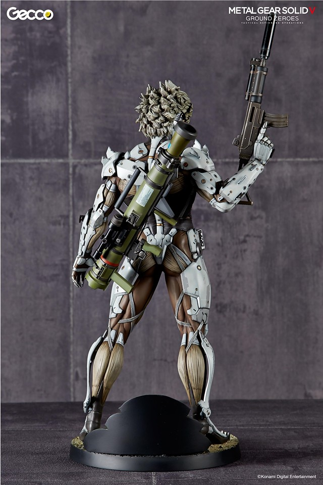 SDCC2015 限定!《潛龍諜影5:原爆點》1/6 雷電 白色盔甲Ver.