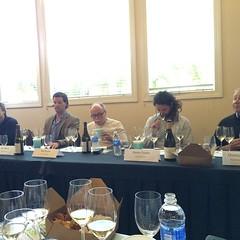 @ChardSymposium panel talking #Chardonnay #soil and #oak #shareslo #Oakornottooak #winemakers