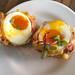 Tuc's Legendary Crispy Bacon and Egg