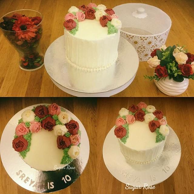 Cake by Sheba Fathima of Sugar Rose