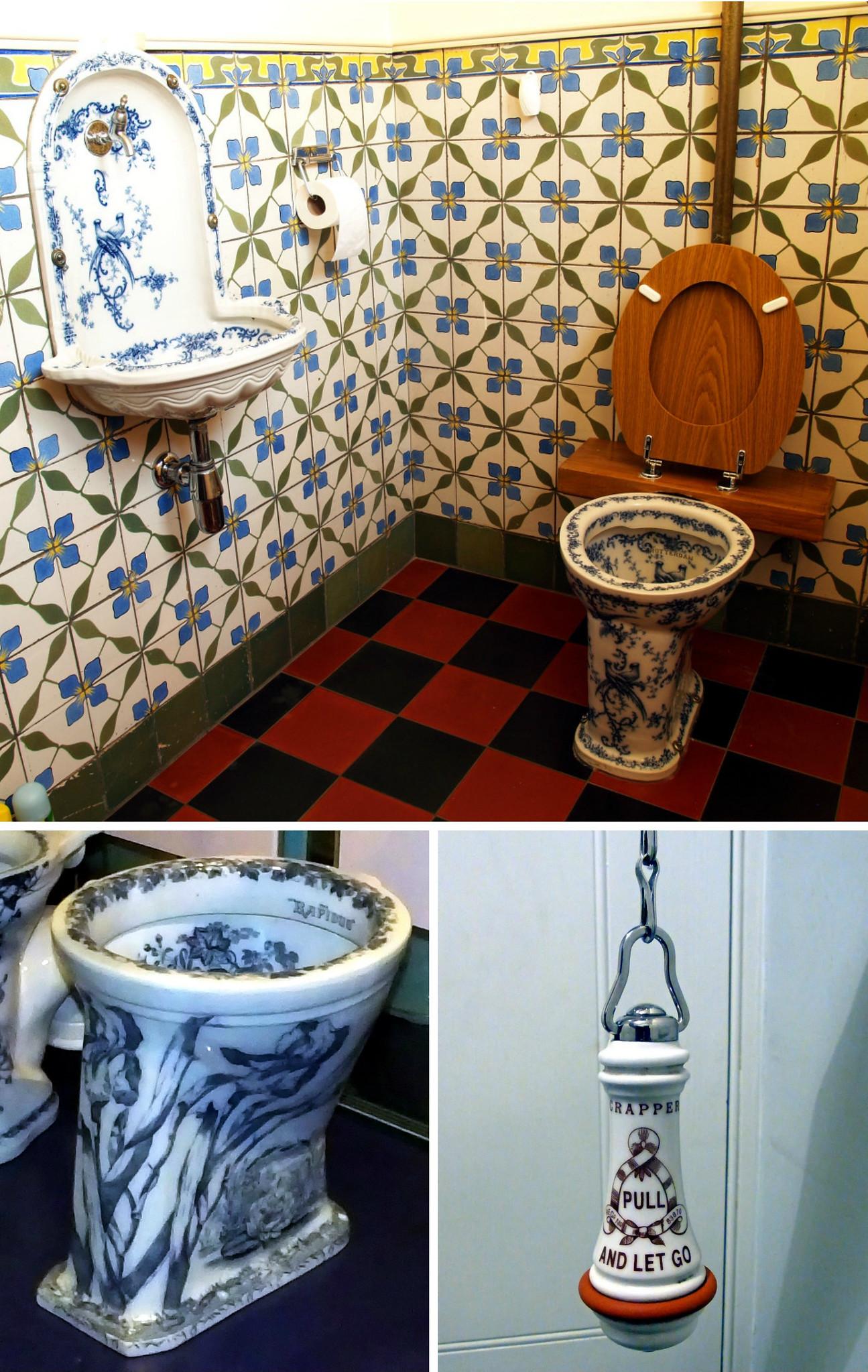 Victorian Flush Toilets