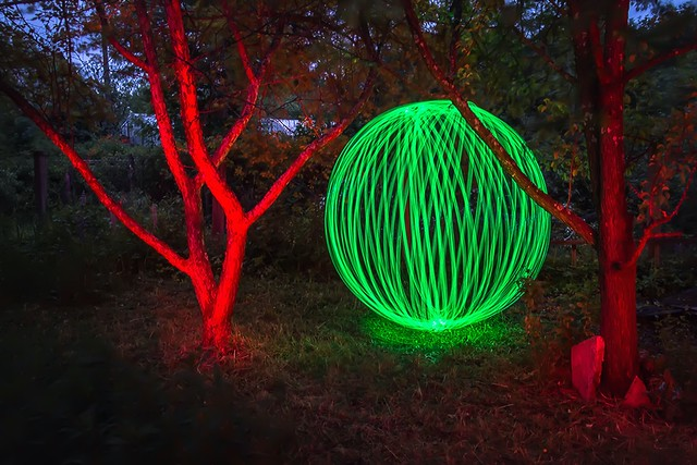 Garden orb.