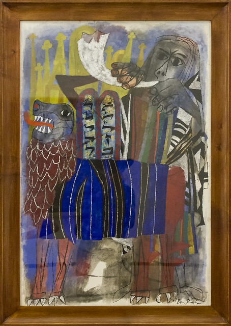 Third Allegory - Ben Shahn, 1955