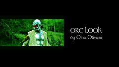 Orc Look and Makeup Timelapse by Dino Olivieri