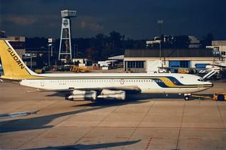 """Sudan Airways Boeing 707-369C ST-AIX """"Blue Nile"""""""