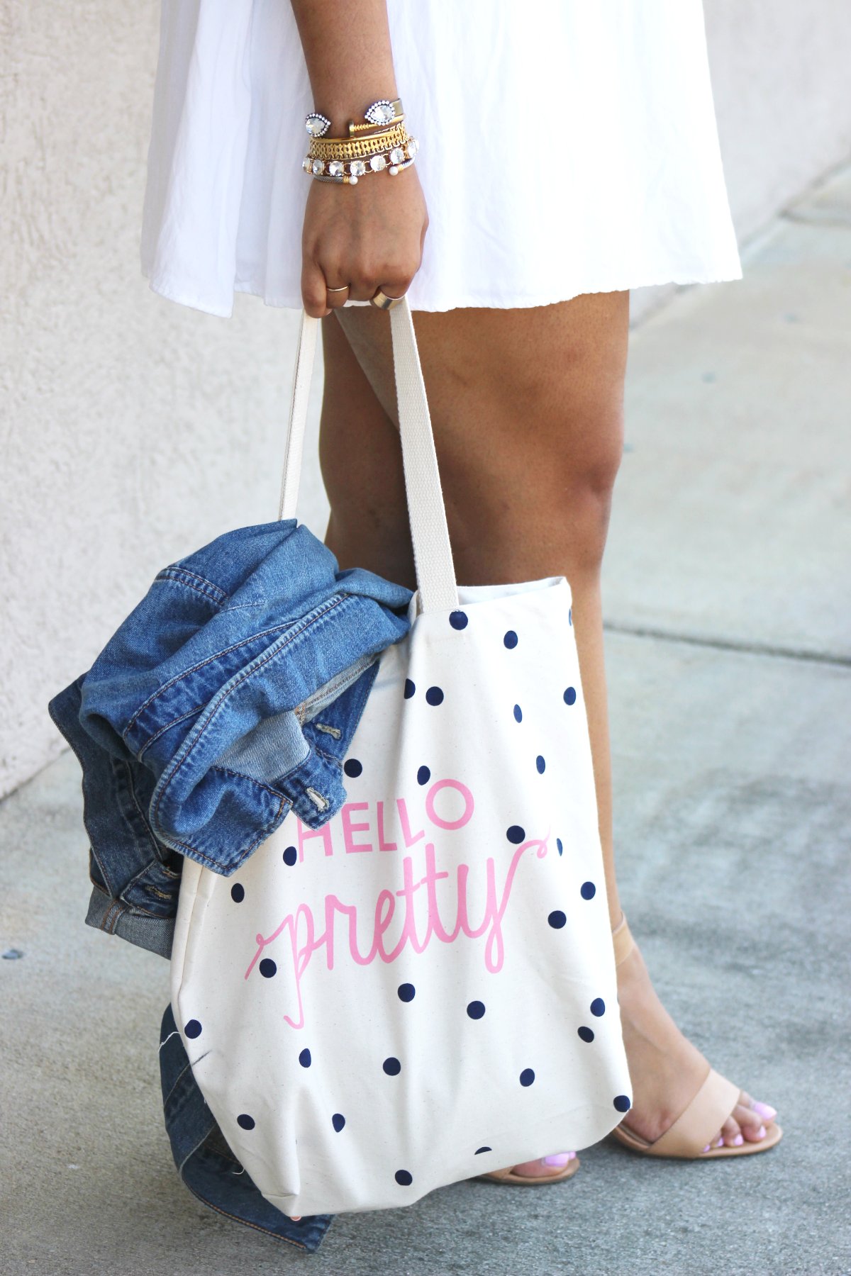 Old Navy Hello Pretty Tote