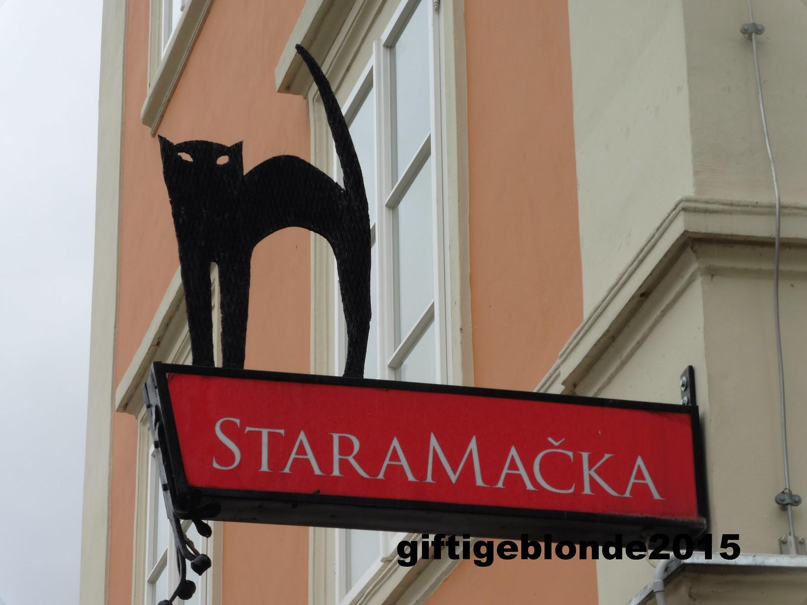 Slowenien, Ljubljana, Staramacka