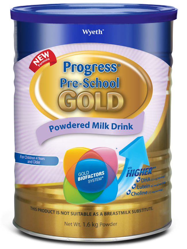 Progress Pre-School GOLD_Can 1.6kg