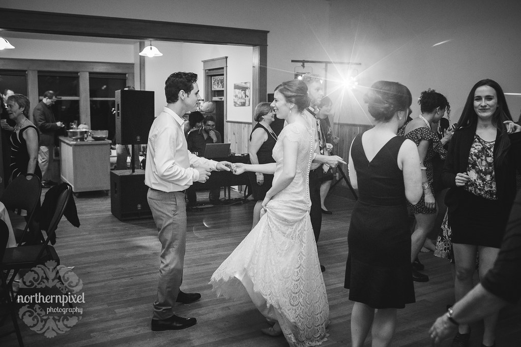Dancing - Round Lake Hall Wedding