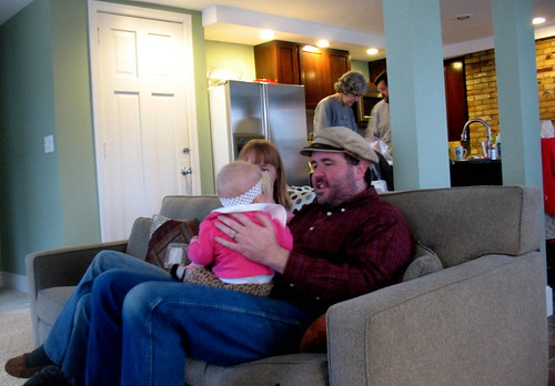 Josiah & Hannah with Josie