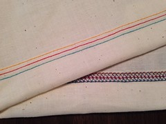 Three thread cover stitch