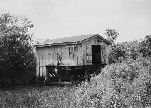 Old boat cabin