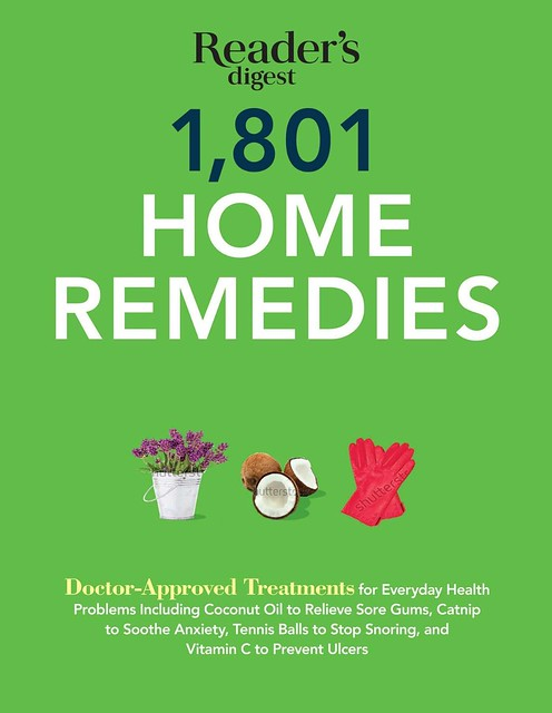 Reader's Digest 1801 Home Remedies (Kindle Edition)