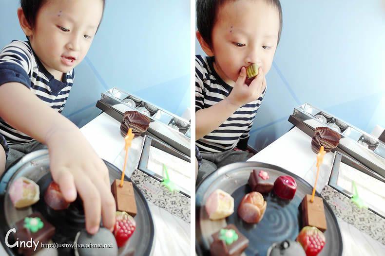 台中清境//妮娜巧克力工坊 幸福的巧克力時間