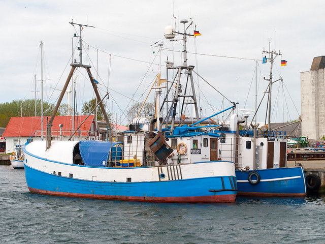 Fishing boats burgstaaken fehmarn germany nyc hennes for Fishing boats nyc