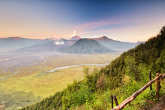Colorful Mount Bromo