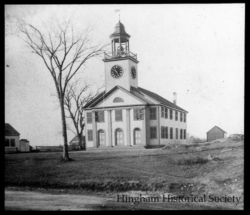 usa building history church monochrome religious massachusetts religion christian unitarian hingham newenglandtown religiousstructures hinghamhistoricalsociety secondparish