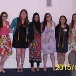 Luz Arreola-Gonzalez, Margaret Kelly, Sheila Donoghue, Sara Khan, Mary Kelly,  Fatime Rexhepi, Sara Solger; BSEd, Magna Cum Laude