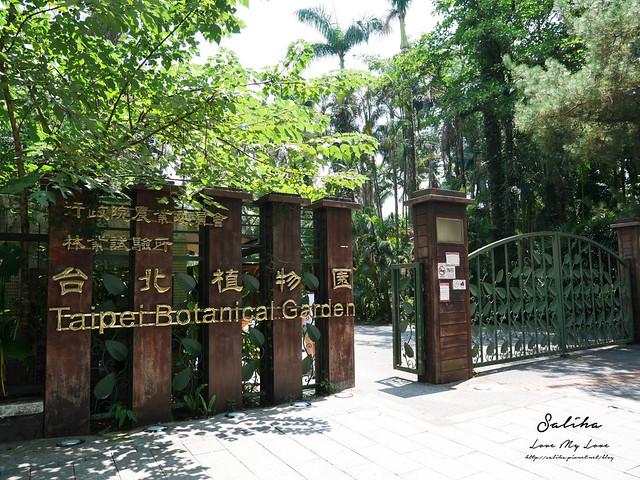 台北一日遊景點推薦植物園荷花蓮花池
