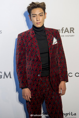 TOP - amfAR Charity Event - Red Carpet - 14mar2015 - FashionModels - 04