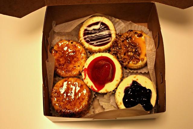 Strawberry And White Chocolate Mini Cheesecakes Recipes — Dishmaps